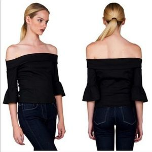 Stone cold fox black top